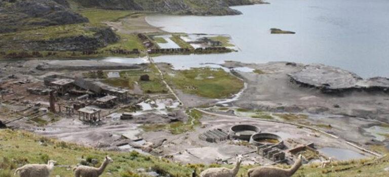 Identificación y clasificación de pasivos ambientales mineros abandonados en Jumasha Laguna Punrun – Pasco, e inscripción en el inventario nacional