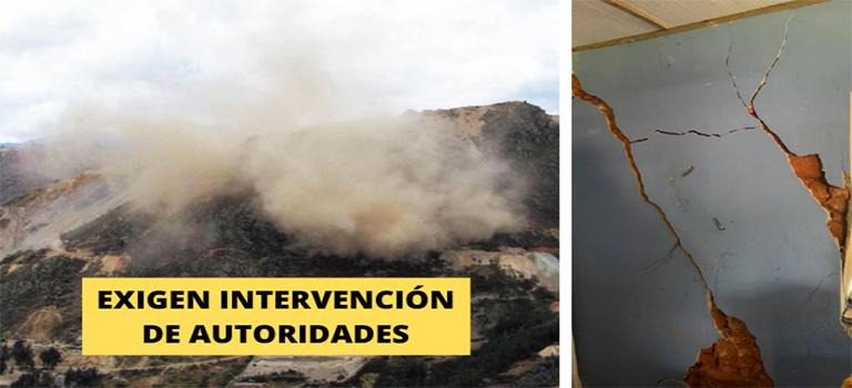 Pronunciamiento: Niñas, niños y pobladores en peligro por voladuras mineras en el cerro el Toro-La Libertad