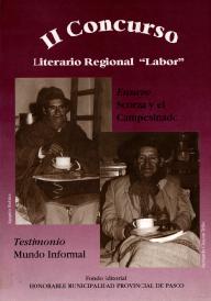 II CONCURSO LITERARIO REGINAL Mundo Informal-1