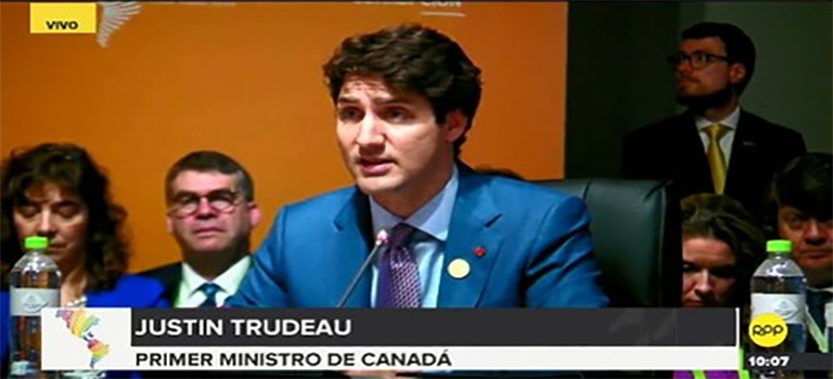 EN QUEBEC, SOCIEDAD CIVIL INSTA A PRIMER MINISTRO CANADIENSE, RECONOZCA PÚBLICAMENTE VALIDEZ DE LAS ELECCIONES PRESIDENCIALES EN PERÚ